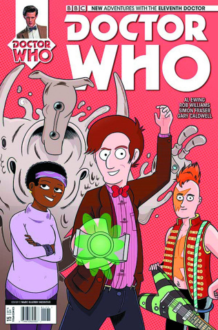 Doctor Who: New Adventures with the Eleventh Doctor #15 (10 Copy Ellerby Cover)