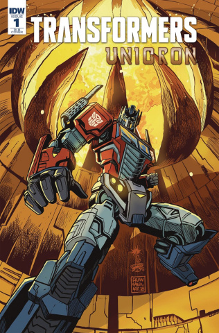 The Transformers: Unicron #1 (25 Copy Francavilla Cover)
