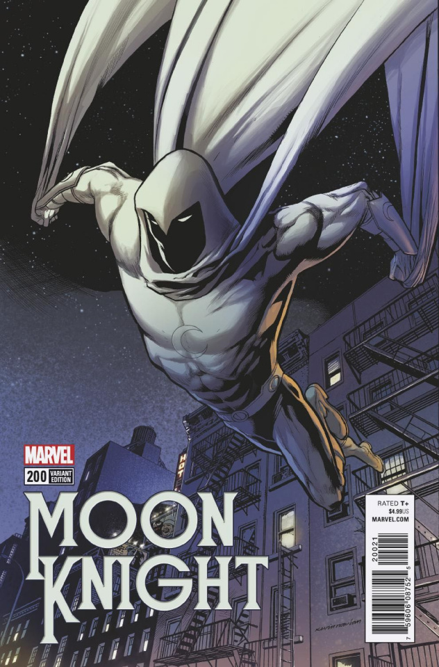 Moon Knight #200 (Nowlan Cover)