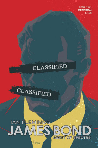 James Bond: Agent of SPECTRE #5 (Premium Casalanguida Cover)