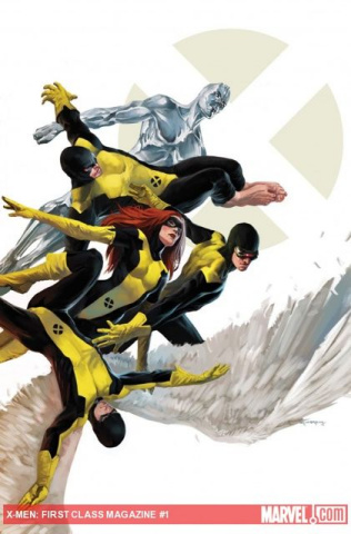 X-Men: First Class Magazine #1