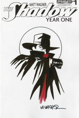 The Shadow: Year One #1 (Hand Drawn Art Wagner Cover)