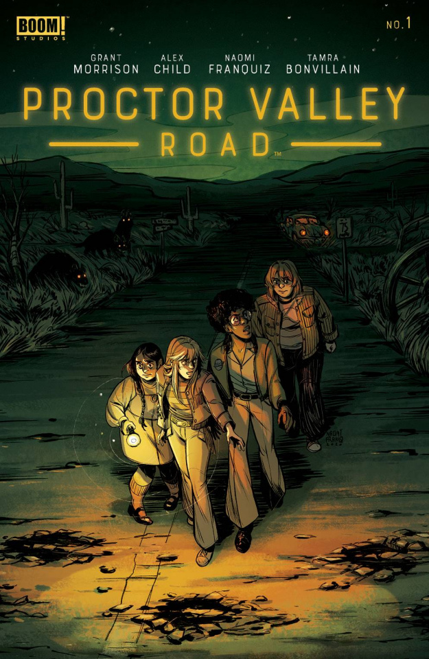 Proctor Valley Road #1 (Franquiz Cover)