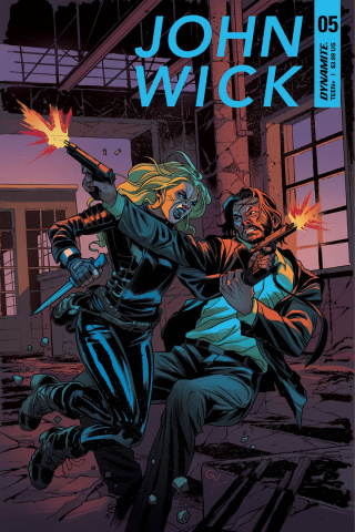 John Wick #5 (Valletta Cover)