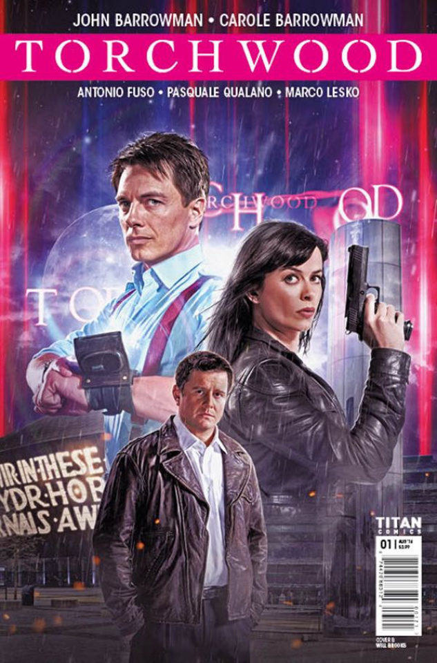 Torchwood #1 (Photo Cover)