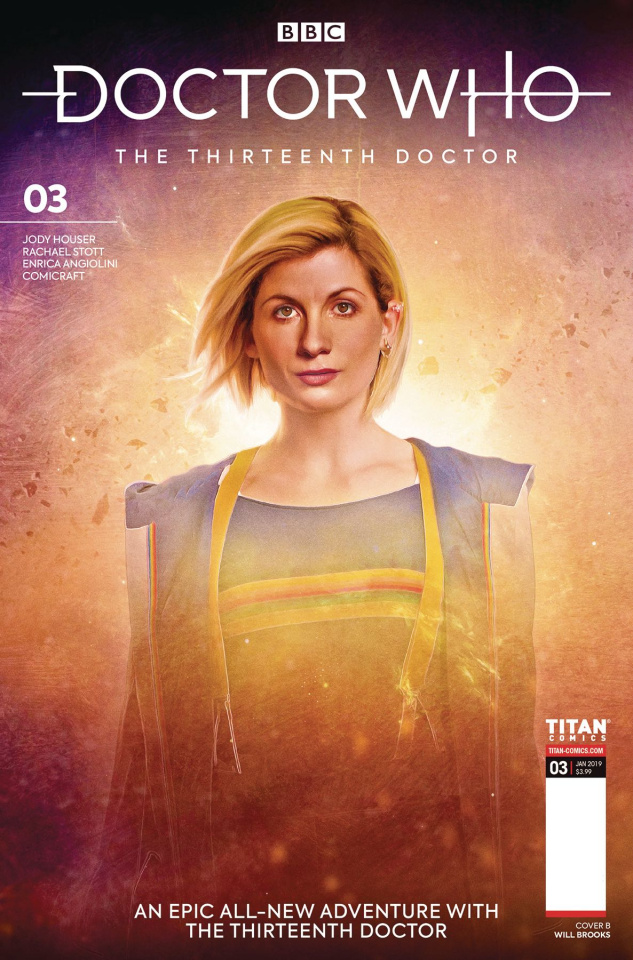 Doctor Who: The Thirteenth Doctor #3 (Brooks Cover)