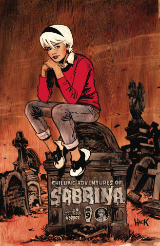 The Chilling Adventures of Sabrina #9 (Hack Cover)