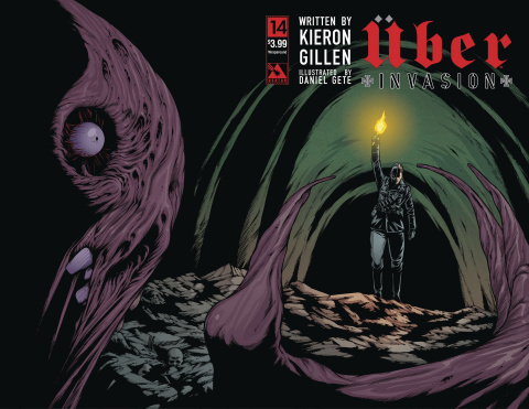 Über: Invasion #14 (Wrap Cover)
