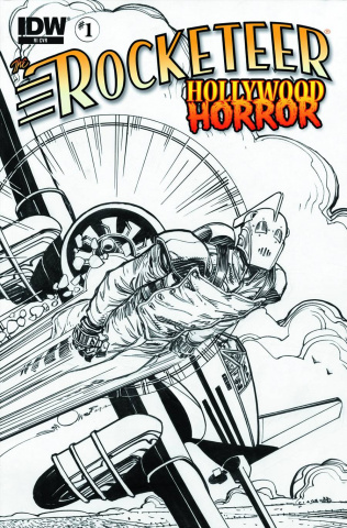 The Rocketeer: Hollywood Horror #1 (10 Copy Cover)