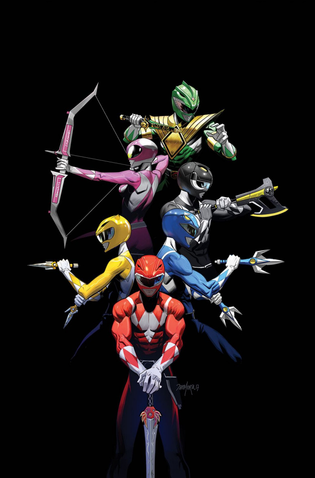 Mighty Morphin' Power Rangers 2017 Annual #1 (10 Copy Mora Cover)