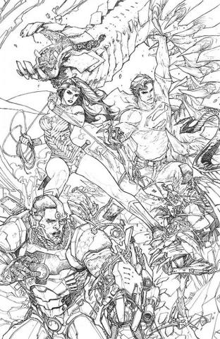 Superman #16 (Black & White Cover)