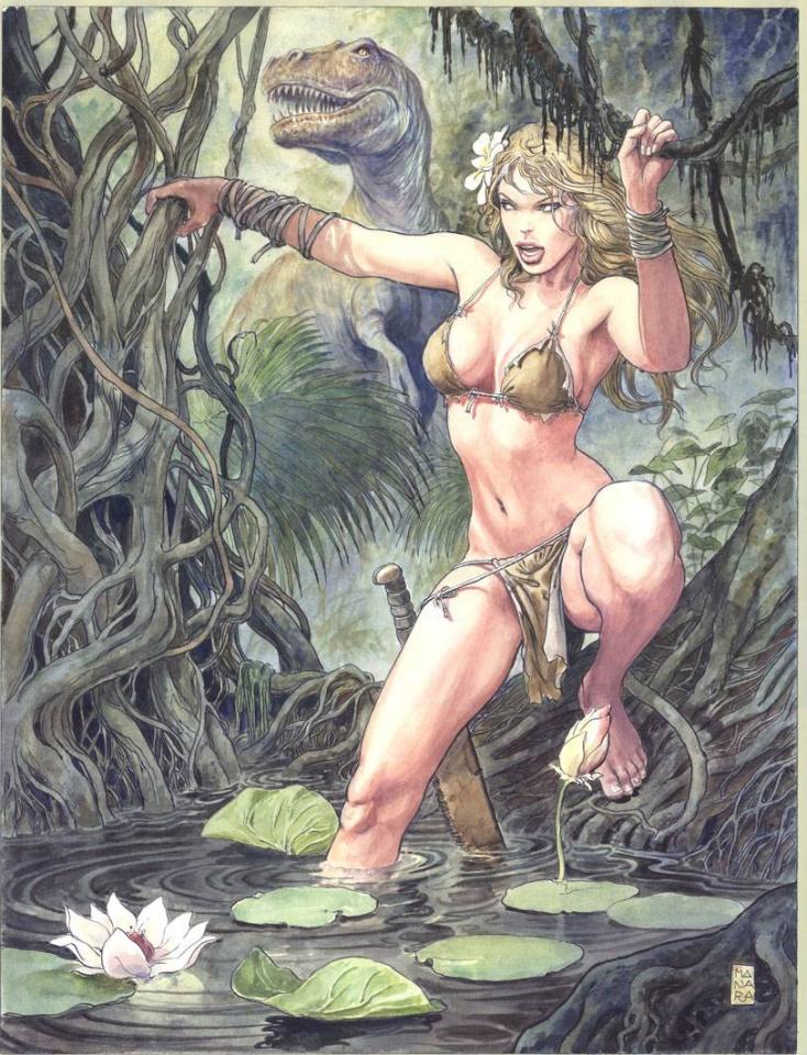 Savage Wolverine #2 (Manara Cover)