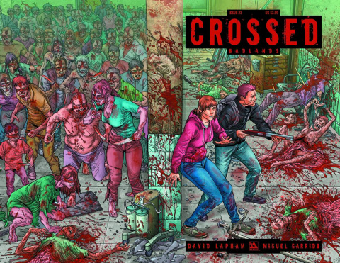 Crossed: Badlands #23 (Wrap Cover)