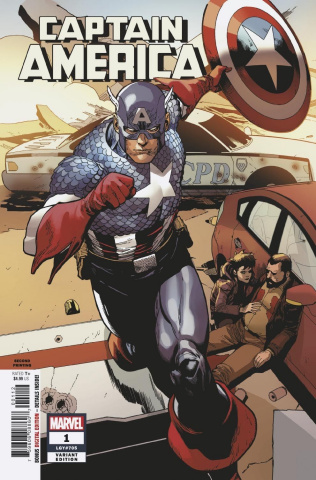 Captain America #1 (Yu 2nd Printing)