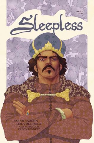 Sleepless #5 (Del Duca & Sallah Cover)