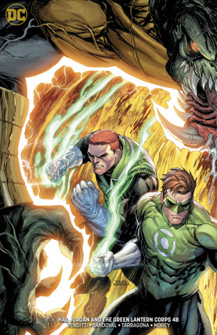 Hal Jordan and The Green Lantern Corps #48 (Variant Cover)