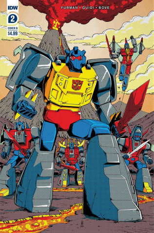 The Transformers '84: Secrets & Lies #2 (Coller Cover)