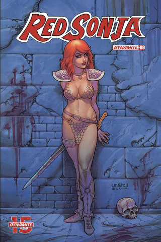 Red Sonja #9 (Linsner Cover)