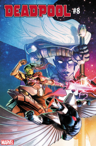 Deadpool #8 (Jamal Campbell Cover)