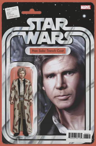 Star Wars #66 (Christopher Action Figure Cover)