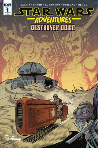 Star Wars Adventures #1 (Destroyer Down 10 Copy Cover)