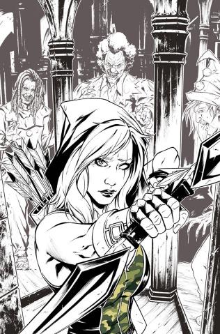 Grimm Fairy Tales: Robyn Hood - I Love NY #4 (Riveiro Cover)