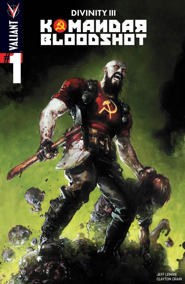 Divinity III: Komandar Bloodshot #1 (Crain Cover)