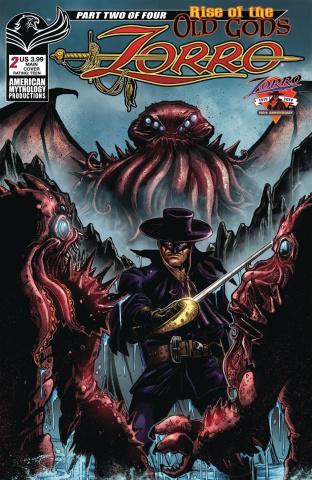 Zorro: Rise of the Old Gods #2 (Calzada Cover)