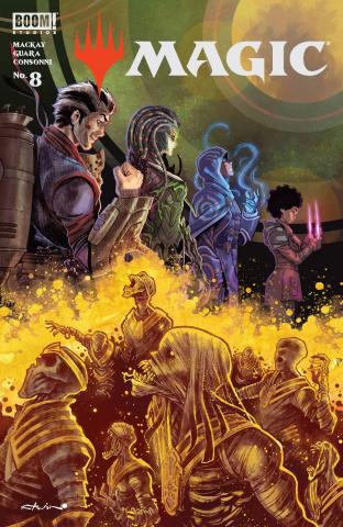 Magic: The Gathering #8 (Armentaro Cover)