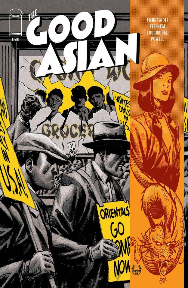 The Good Asian #8 (Johnson Cover)