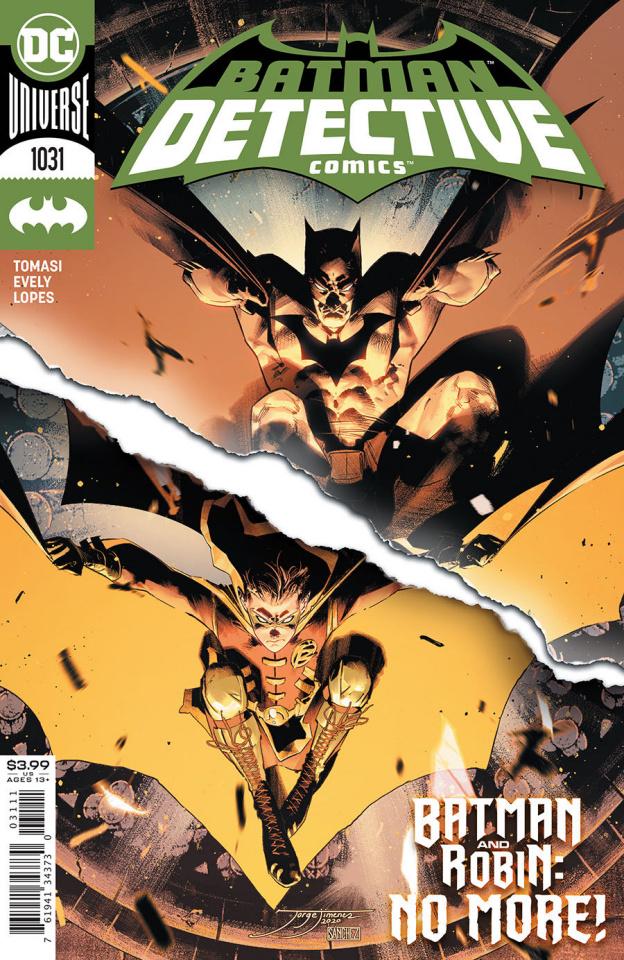 Detective Comics #1031 (Jorge Jimenez Cover)