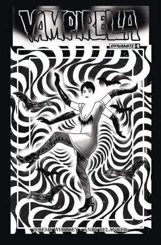 Vampirella #9 (30 Copy Broxton B&W Cover)