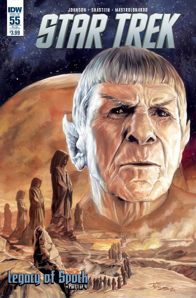 Star Trek #55 (Subscription Cover)