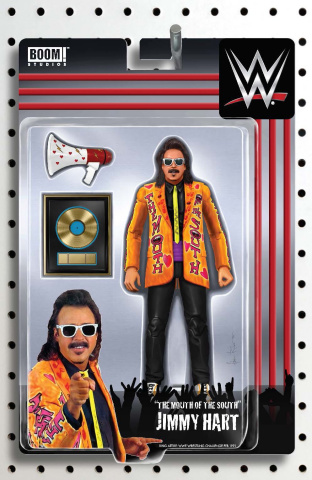 WWE #8 (Unlockable Action Figure Riches Cover)