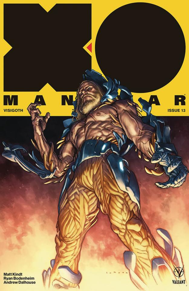 X-O Manowar #13 (Larosa Cover)