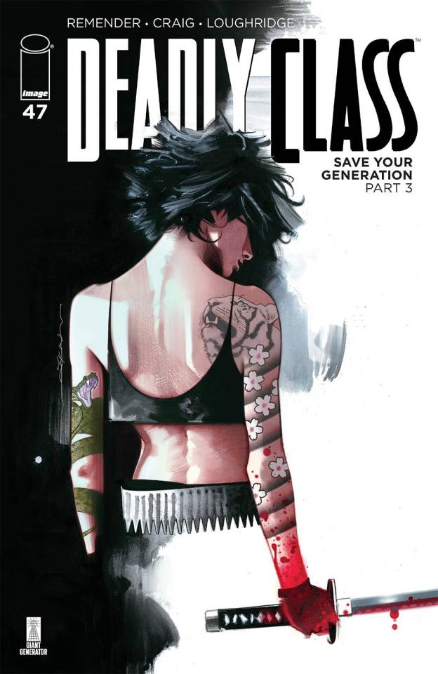 Deadly Class #47 (Dekal Cover)