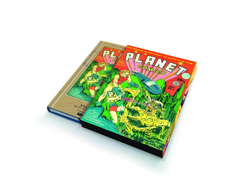 Planet Comics Vol. 2