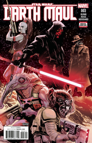 Star Wars: Darth Maul #3 (2ns Printing Alberquerque Cover)