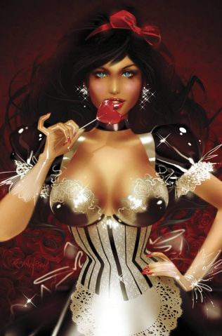 Grimm Fairy Tales: Wonderland #32 (Valentines Franchesco Cover)