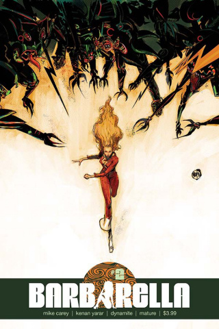 Barbarella #2 (Pope Cover)