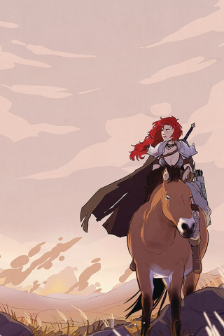 Red Sonja #5 (40 Copy St. Onge Virgin Cover)