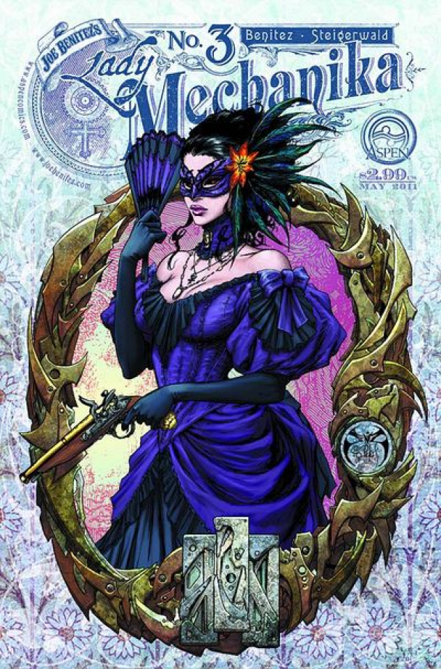 Lady Mechanika #3 (Benitez Cover)