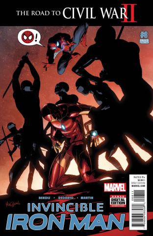 Invincible Iron Man #8 (Deodato 2nd Printing)