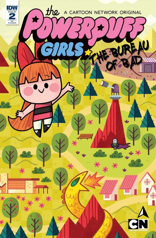 The Powerpuff Girls: The Bureau of Bad #2 (10 Copy Cover)