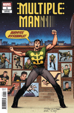 Multiple Man #1 (Stroman Cover)