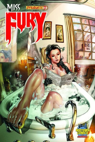 Miss Fury #1 (Midtown Cover)