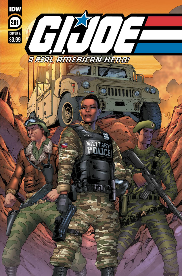 G.I. Joe: A Real American Hero #281 (Andrew Griffith Cover)