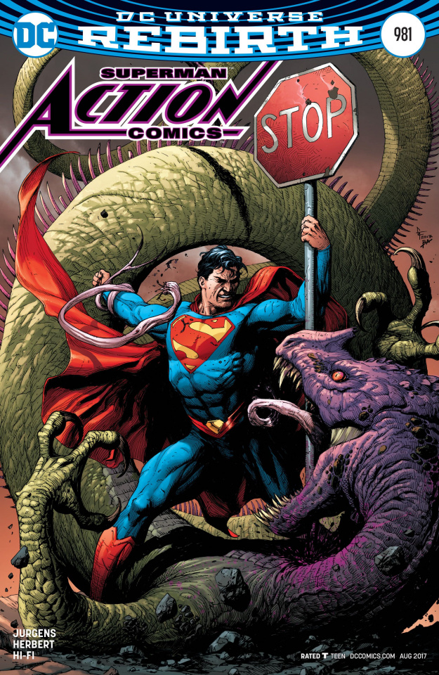Action Comics #981 (Variant Cover)