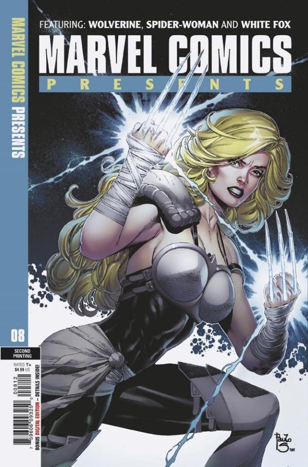 Marvel Comics Presents #8 (Sequeira 2nd Printing)