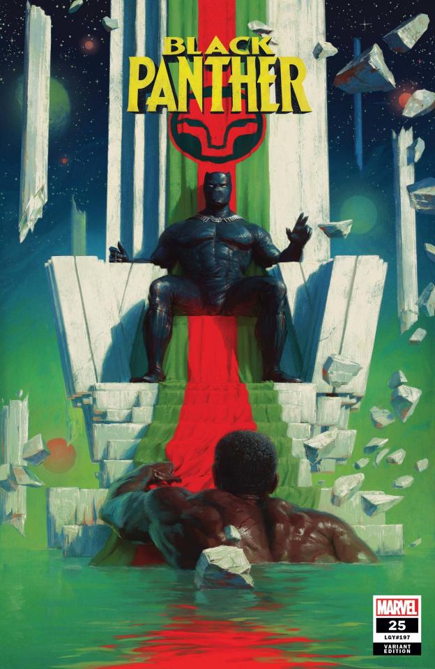 Black Panther #25 (Spratt Cover)